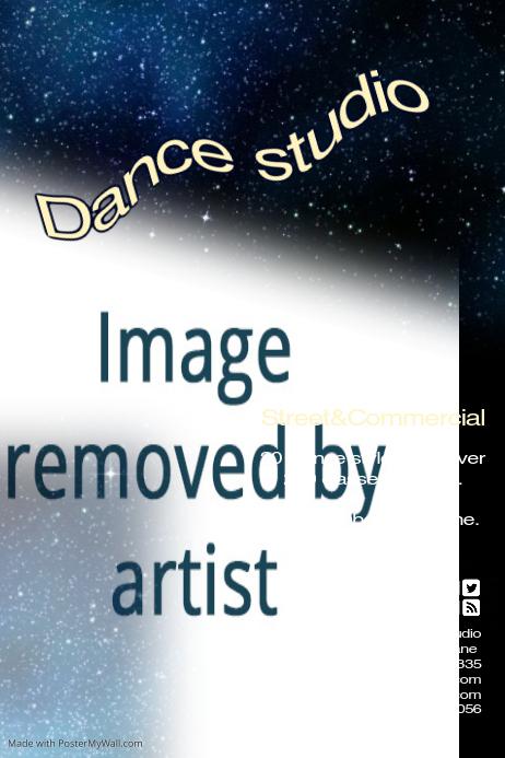 Dance Studio Template Postermywall,Geometric Line Design Worksheets