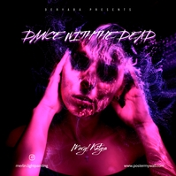 Dance with the Dead Art Mixtape CD Cover Albumcover template