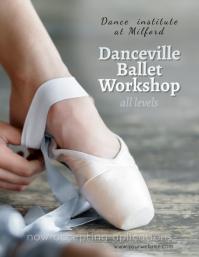 Dancing Ballet Classes Workshop flyer