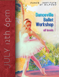Dancing Ballet Classes Workshop flyer