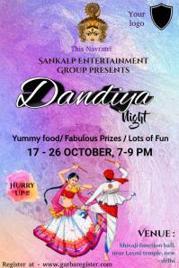 Dandiya contest Iphosta template