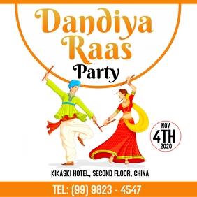 Dandiya Raas Template Quadrat (1:1)