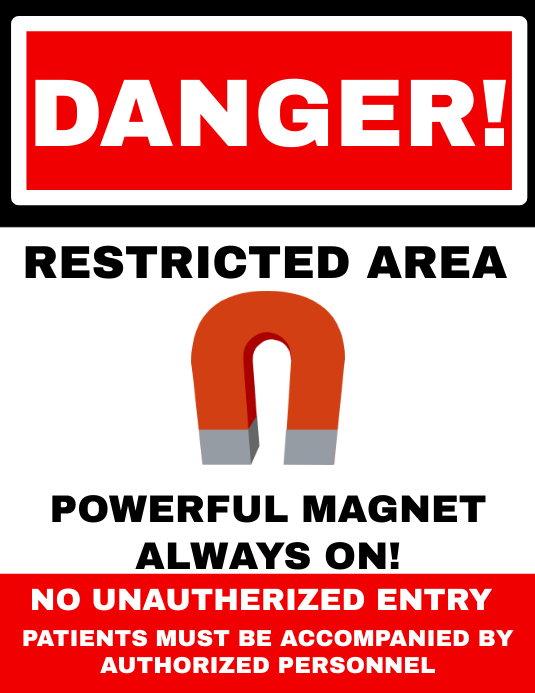 Danger Warning Sign Template