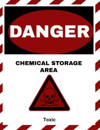 Danger Warning Sign Template