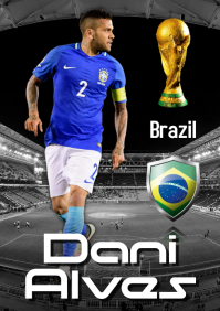 Dani Alves Poster