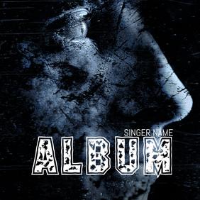 Dark Album Cover Template