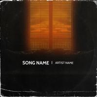 Dark Bedroom mixtape cover design template Okładka albumu
