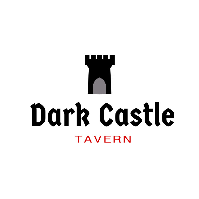 Dark Castle Black and Red Logo