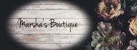 Dark Floral Boutique Handmade Business template