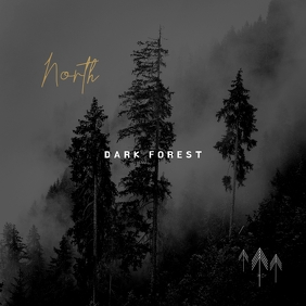 Dark Forest Black & White CD Cover