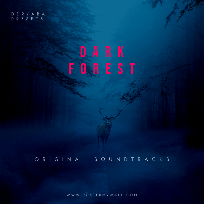 Dark Forest CD Cover Template