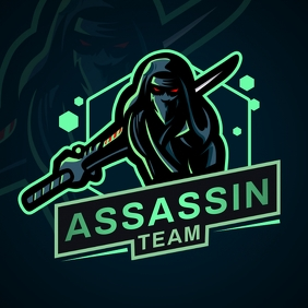 Dark Green Esports Team Logo