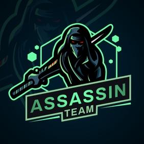 Dark Green Esports Team Logo