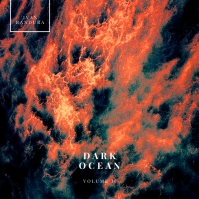 Dark Ocean Simple CD Cover Music Template 专辑封面