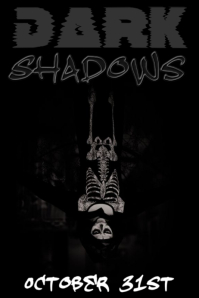 Dark Shadows Poster template