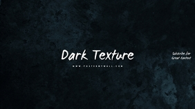 Dark Texture Youtube Channel Art Template