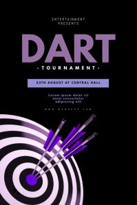 Dart Tournament Flyer Template