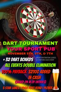 Dart Tournament Template