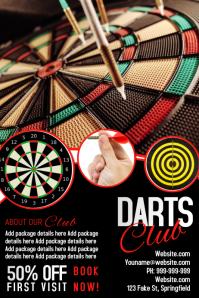 Darts Club Poster