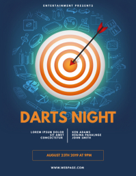 Darts Flyer Template