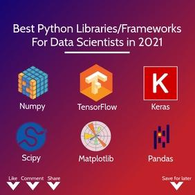 Data Scientists Framework Template Carré (1:1)