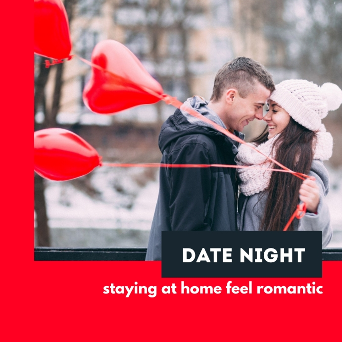 Date Night Template Instagram-opslag