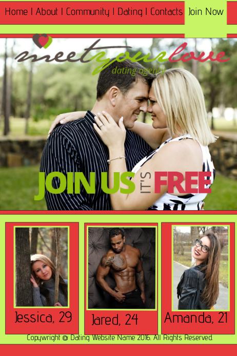 templates voor dating websites aansluiting Chicago