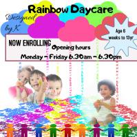 Day Care, Pre School, Kindergarten Ad Logo template