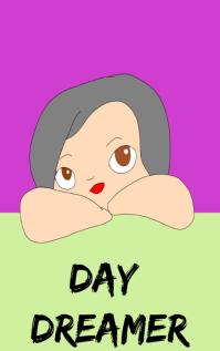 Day Dreamer Book Cover Design