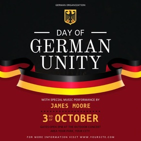 Day of German Unity Event Instagram Video