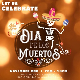 Day of the Dead Fiesta Video Ad Template
