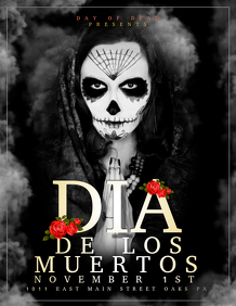 Customizable Design Templates for Day Of The Dead | PosterMyWall
