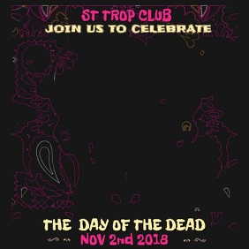 Day of the Dead Video Template
