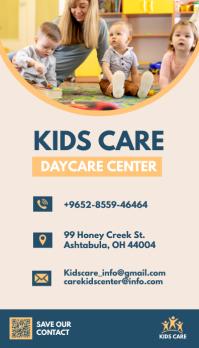Daycare Business Card Ikhadi Lebhizinisi template