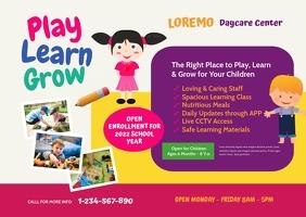 Daycare Center Postcard