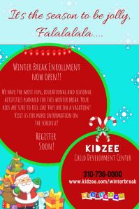Daycare Childcare Winter Workshop