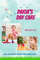 Daycare Children Poster Flyer