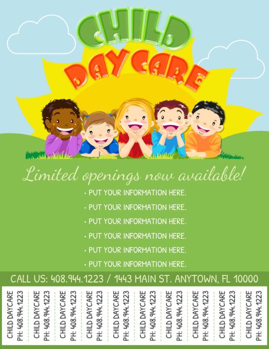 Copy Of Daycare Flyer