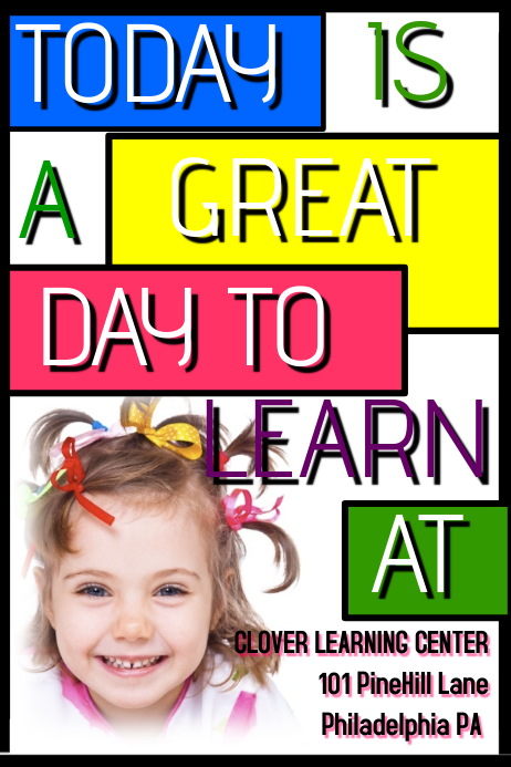 Daycare Flyer Template: Copy Of Daycare Flyer
