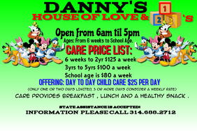 Customizable Design Templates for Daycare | PosterMyWall