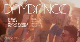Daydance Beachparty Summer Dance Sun Party Ad