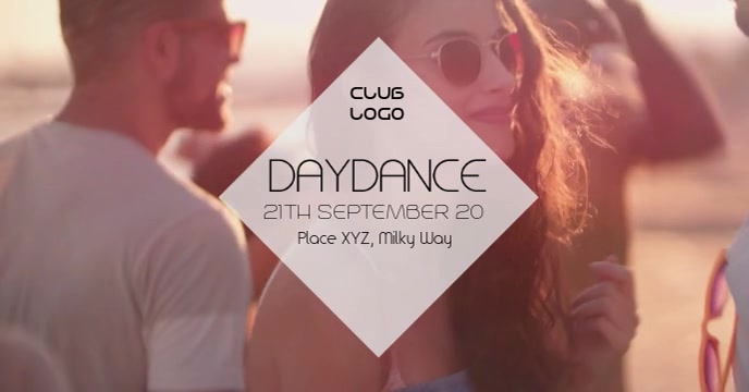 Daydance openair Summer Dance Sun Party Ad