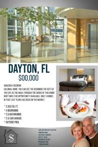 Daytona FL Real Estate Flyer