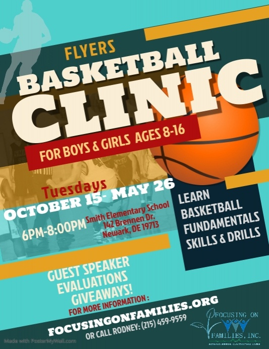 Copy of Copy of Spring Basketball Clinic