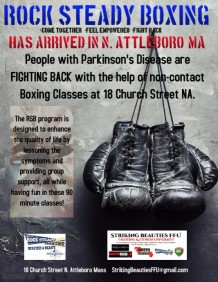 Rock Steady Boxing Fitness Parkinsons