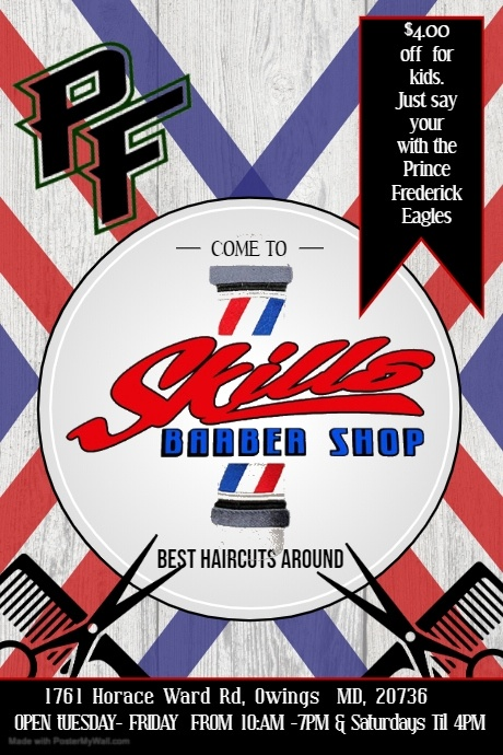 Copy of Copy of Barber Shop Ad Poster