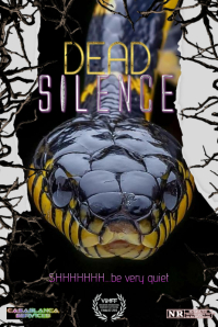 dead silence Poster template