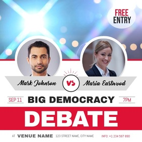 Debate Competition Square Video
