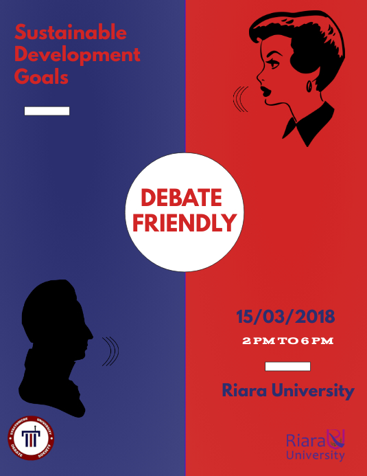 debate contest template postermywall