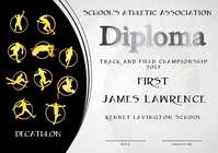 decathlon diploma first
